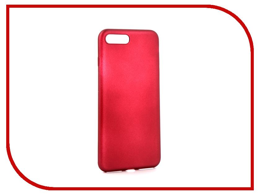 Аксессуар Чехол X-Level Guardian для Apple iPhone 7/8 Plus Burgundy 2828-015 биотуалет для дачи отзывы
