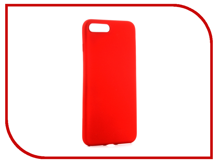 Аксессуар Чехол для APPLE iPhone 7/8 Plus X-Level Guardian Red 2828-017 аксессуар чехол x level guardian для apple iphone 7 8 plus burgundy 2828 015