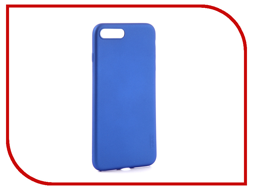 Аксессуар Чехол для APPLE iPhone 7/8 Plus X-Level Guardian Blue 2828-018 аксессуар чехол x level guardian для apple iphone 7 8 plus burgundy 2828 015