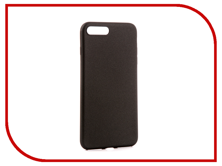 Аксессуар Чехол для APPLE iPhone 7/8 Plus X-Level Guardian Black 2828-019 аксессуар чехол x level guardian для apple iphone 7 8 plus burgundy 2828 015