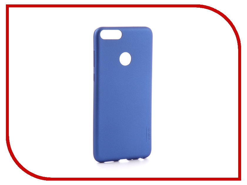 Аксессуар Чехол для Huawei P Smart X-Level Guardian Blue 2828-124 аксессуар чехол для huawei honor p smart x level guardian blue 2828 124