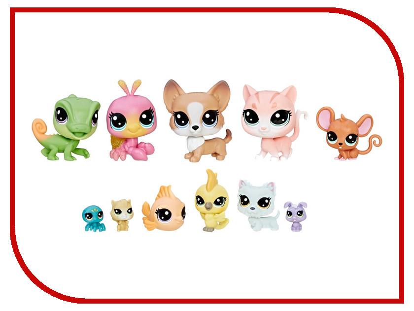 где купить Игрушка Hasbro Littlest Pet Shop Набор из 11 коллекционных фигурок B9343 по лучшей цене