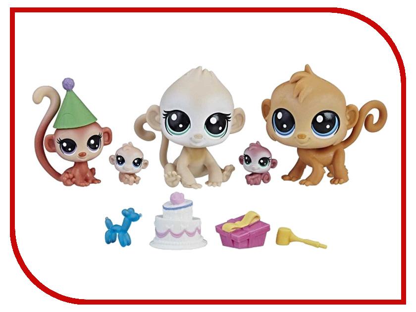 Игрушка Hasbro Littlest Pet Shop Семья петов B9346