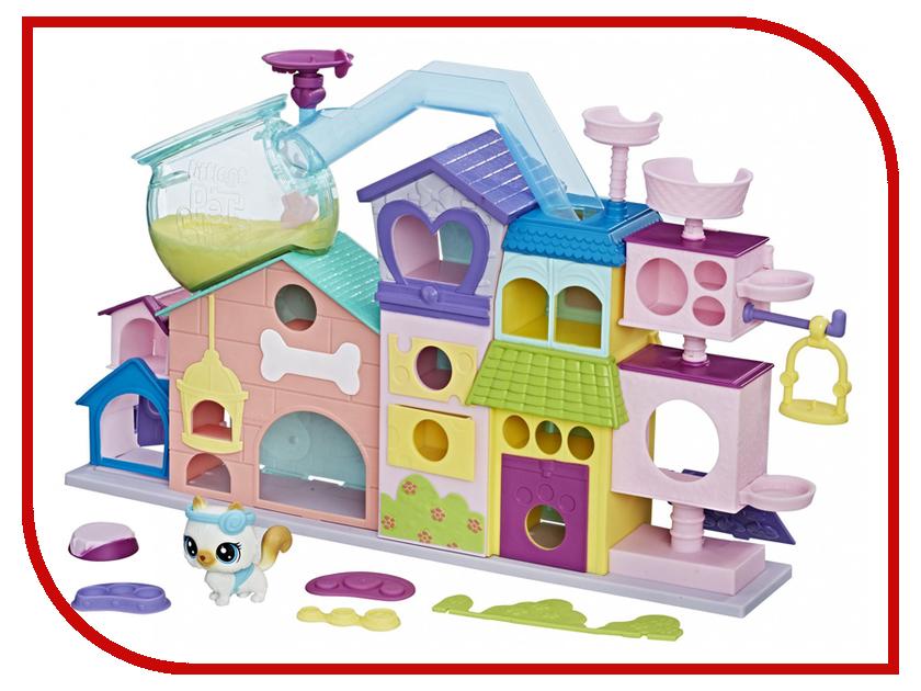 Игрушка Hasbro Littlest Pet Shop Апартаменты для петов C1158 игровые наборы littlest pet shop лпс апартаменты для петов