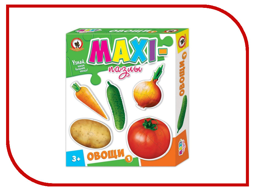Пазл Русский Стиль Овощи 1 03527