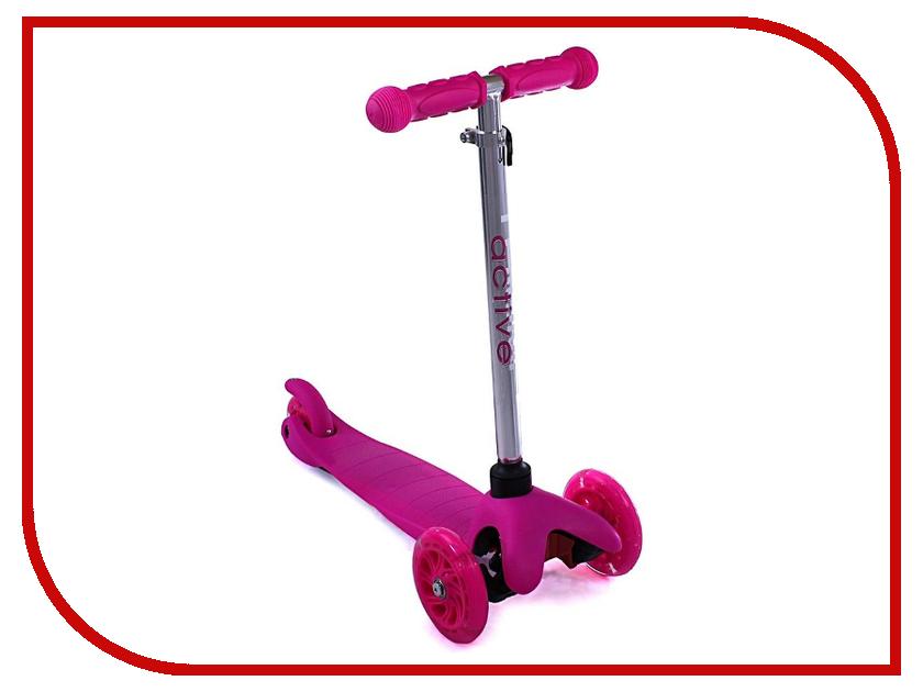 Самокат Triumf Active SKL-06AH Pink