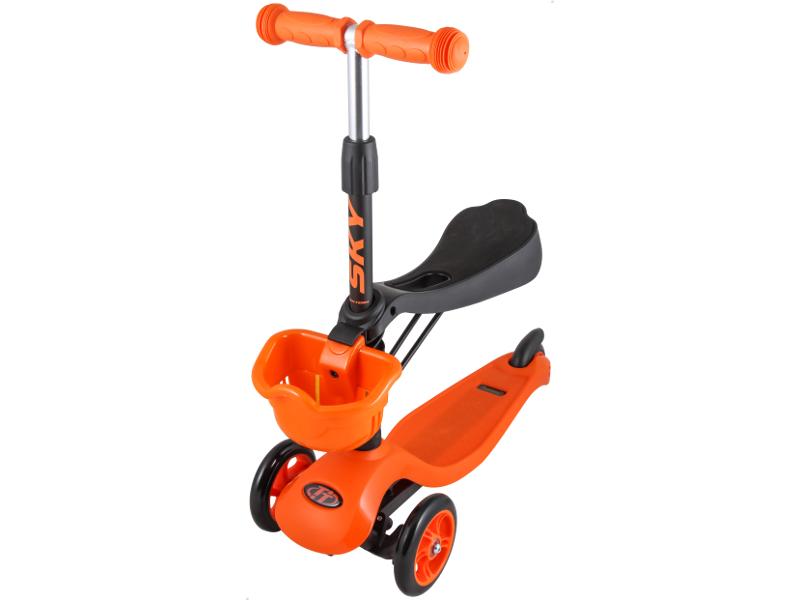 Самокат Tech Team Sky Scooter New Orange
