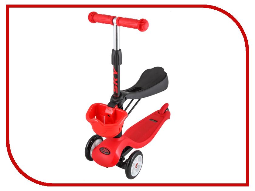 Самокат Tech Team Sky Scooter New Red