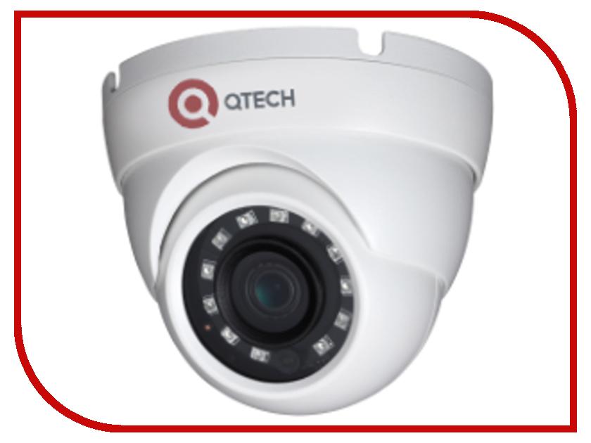 IP камера Qtech QVC-IPC-402V 2.8 ip камера qtech qvc ipc 202v 2 8