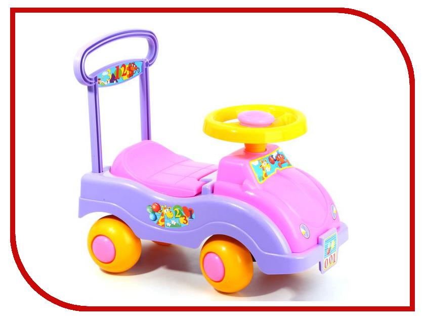 Каталка Совтехстром Автомобиль для девочек (У447) со звуковыми эффектами рубашка поло printio фк уфа город уфа