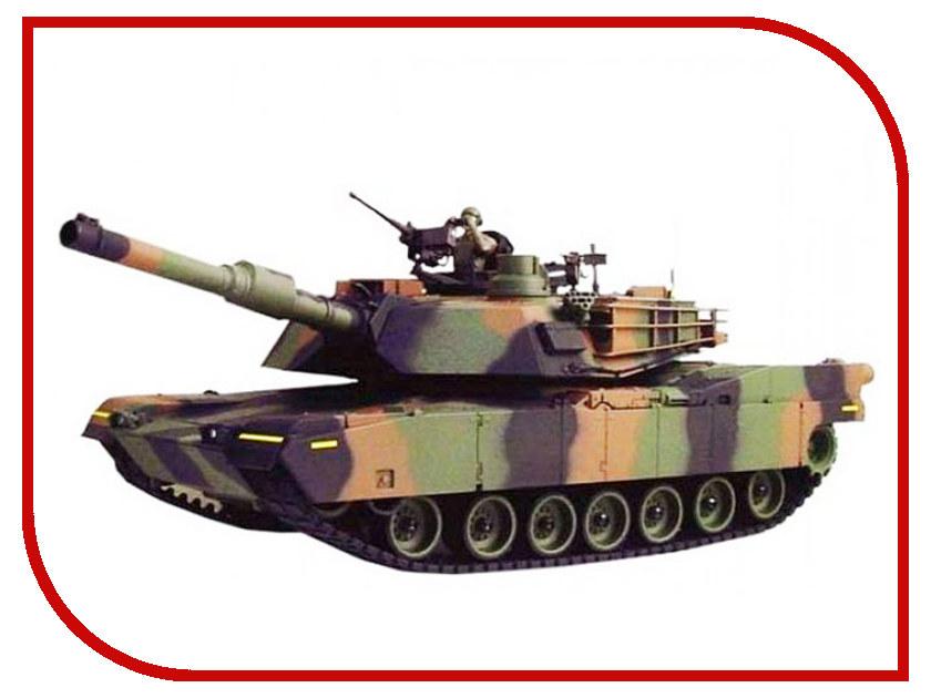 Игрушка Pilotage M1A2 Abrams с ИК-пушкой 1:24 42 см радиоуправляемый танковый бой huan qi abrams vs abrams масштаб 1 24 27mhz vs 40mhz