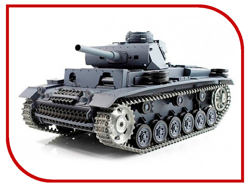 Игрушка Pilotage Panzer III Ausf L (RC16184) 1:16 henglong 1 16 scale german iii h 3849 rc tank caterpillar pedrail plastic tracks