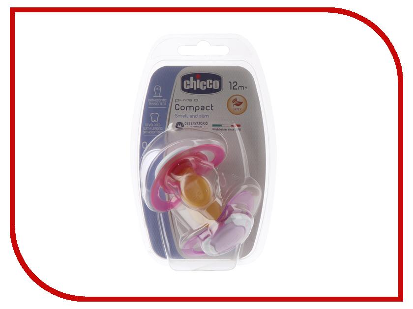 Здесь можно купить Physio Compact  Пустышка Chicco Physio Compact 2шт Pink 00074824110000 принадлежности для кормления
