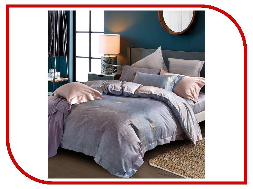 Постельное белье Estro Beatricia Комплект Евро Мако-Сатин YGCA320ABP постельное белье estro c52 комплект 2 спальный сатин
