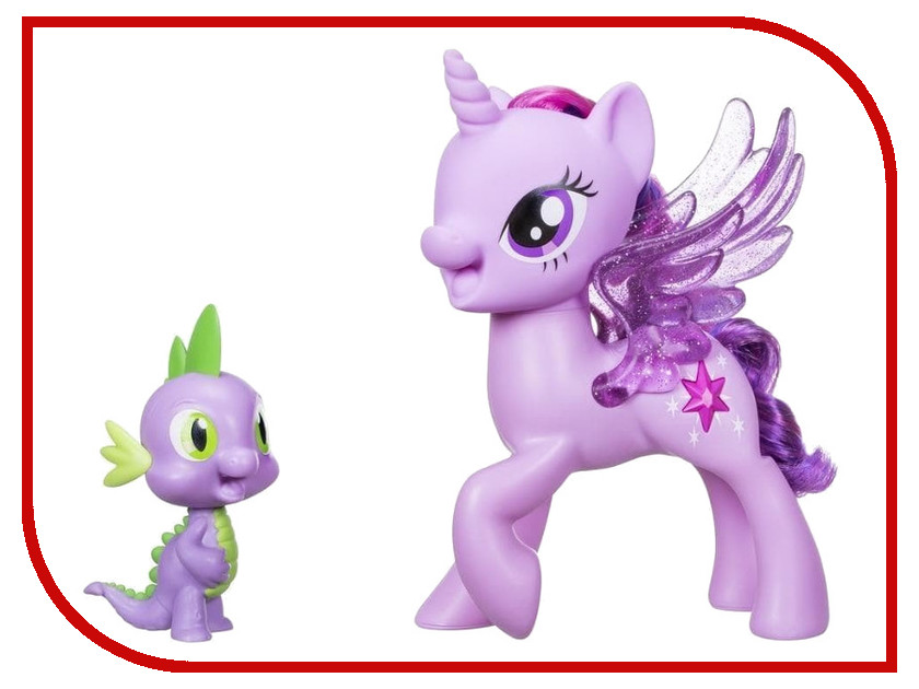 Игрушка Hasbro My Little Pony Поющая Твайлайт Спаркл  Спайк C0718