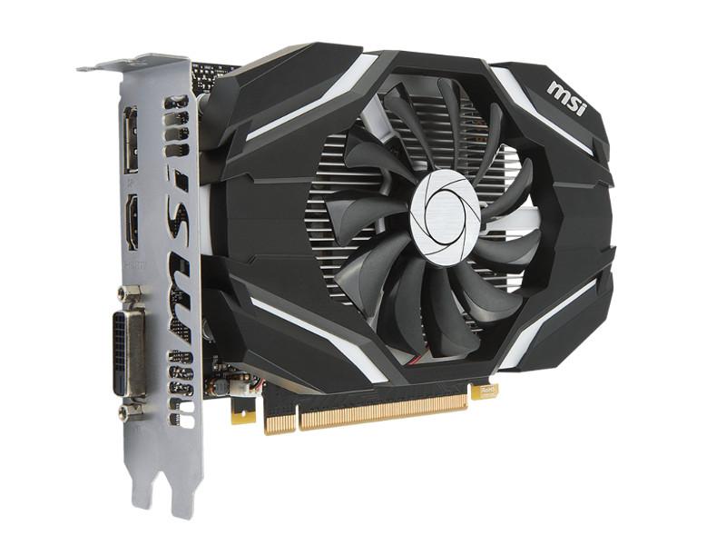 Видеокарта MSI GeForce GTX 1050 1404Mhz PCI-E 3.0 2048Mb 7008Mhz 128 bit DVI DP HDMI HDCP 2G OC