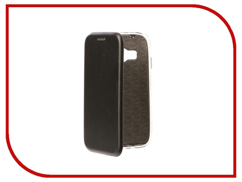 Аксессуар Чехол для Samsung Galaxy J1 Mini Prime 106 Neypo Premium Black NSB3821 зеленый одуванчик дизайн кожа pu откидная крышка бумажника карты держатель чехол для samsung galaxy core prime g360