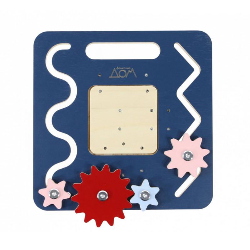 Бизиборд Занятный Дом Дорожный Blue 03-00000272
