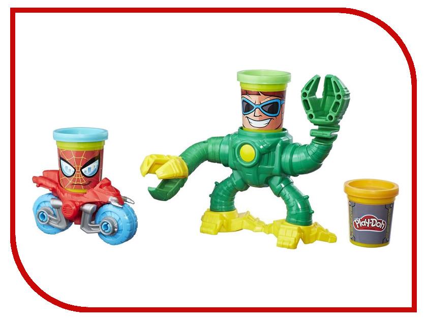 Игрушка Hasbro Play-Doh Человек-паук против Доктора Осьминога B9364 play doh набор для лепки магазинчик печенья play doh