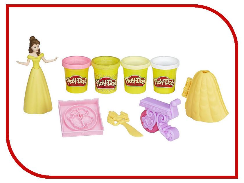 Игрушка Hasbro Play-Doh Банкет Белль B9406 hasbro play doh игровой набор из 3 цветов цвета в ассортименте с 2 лет