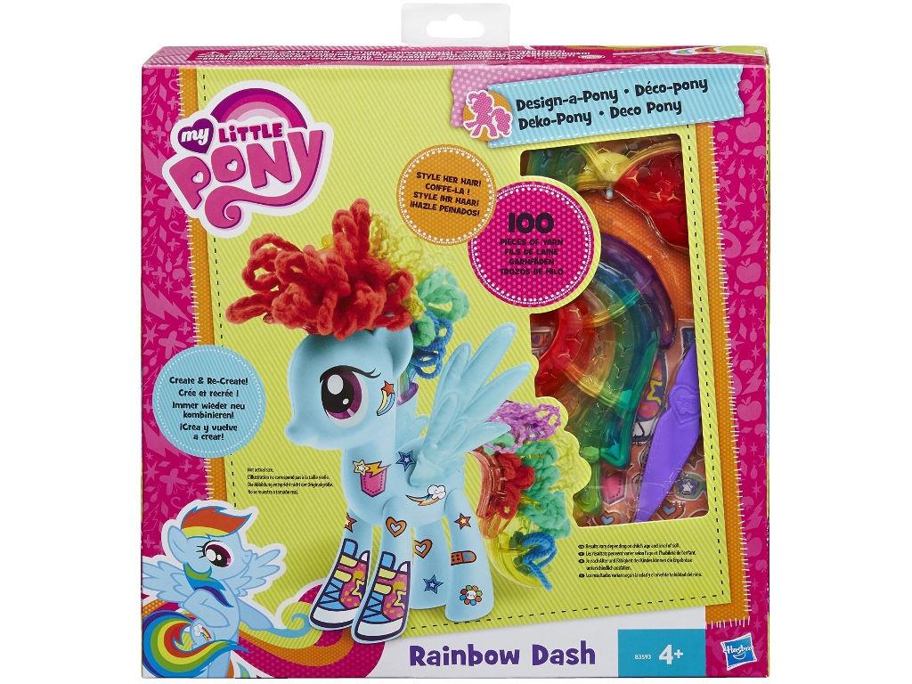Игрушка Hasbro My Little Pony Создай свою пони - Рейнбоу Дэш B3593