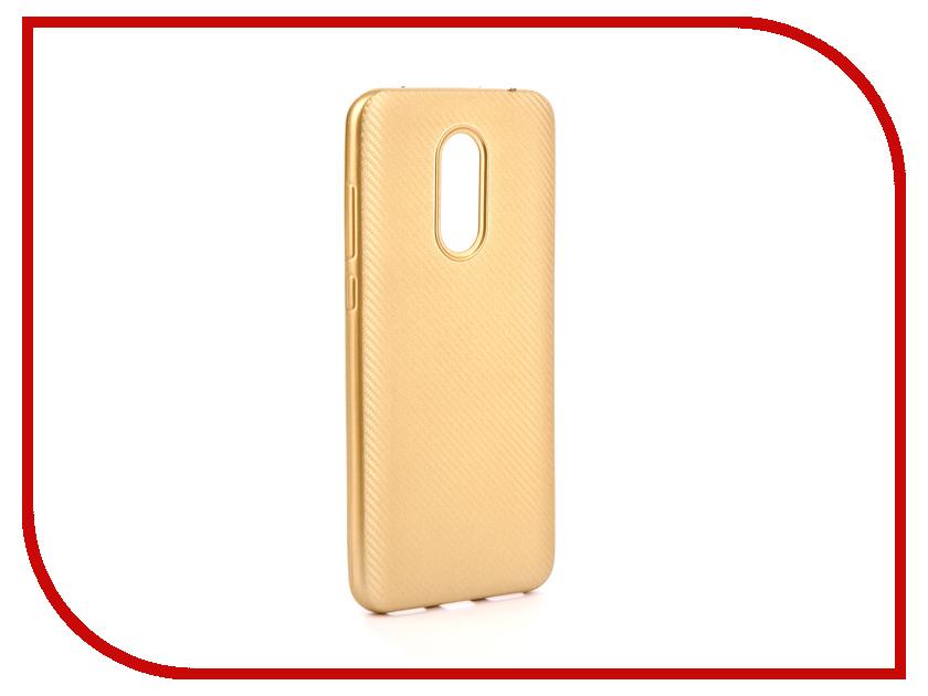 Купить Аксессуар Чехол Neypo для Xiaomi Redmi 5 Plus Silicone Neon Carbon Gold NSTN3836