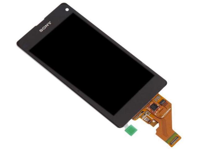 Дисплей RocknParts Zip для Sony Xperia Z1 Compact D5503 Black 380932