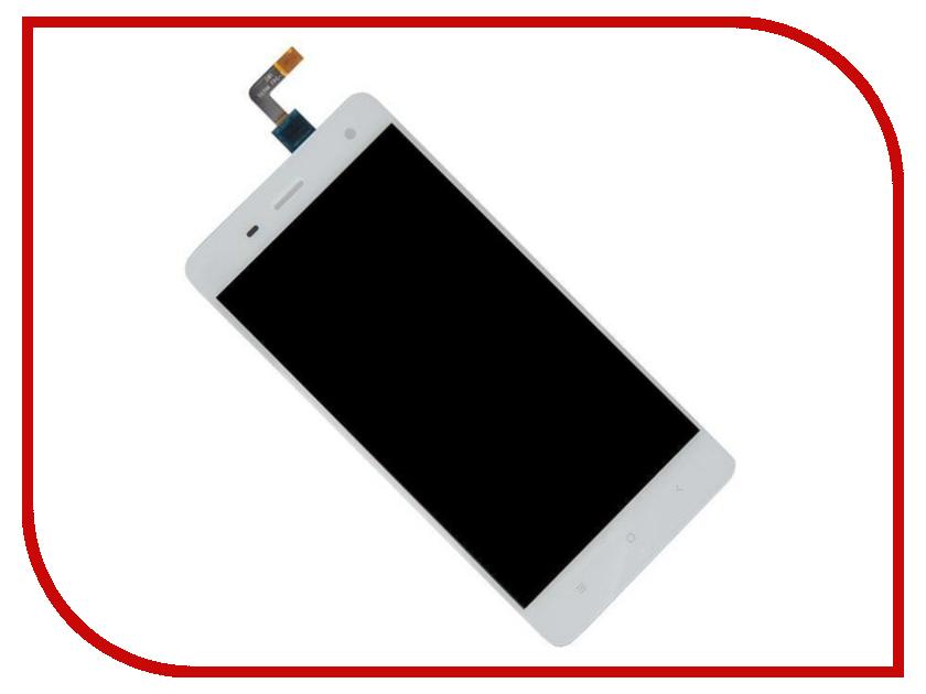Дисплей RocknParts Zip для Xiaomi Mi4 White 452691 багажник на крышу lux suzuki vitara iv 2015 г в без рейлингов на крыше аэро классик аэродинамические дуги узкие 53мм 1 1м 841788