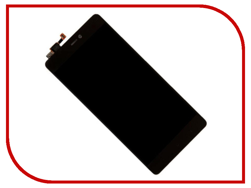 Дисплей Zip для Xiaomi Mi4c Black 452770 аккумулятор xiaomi mi4c mi4c dual sim 3080mah