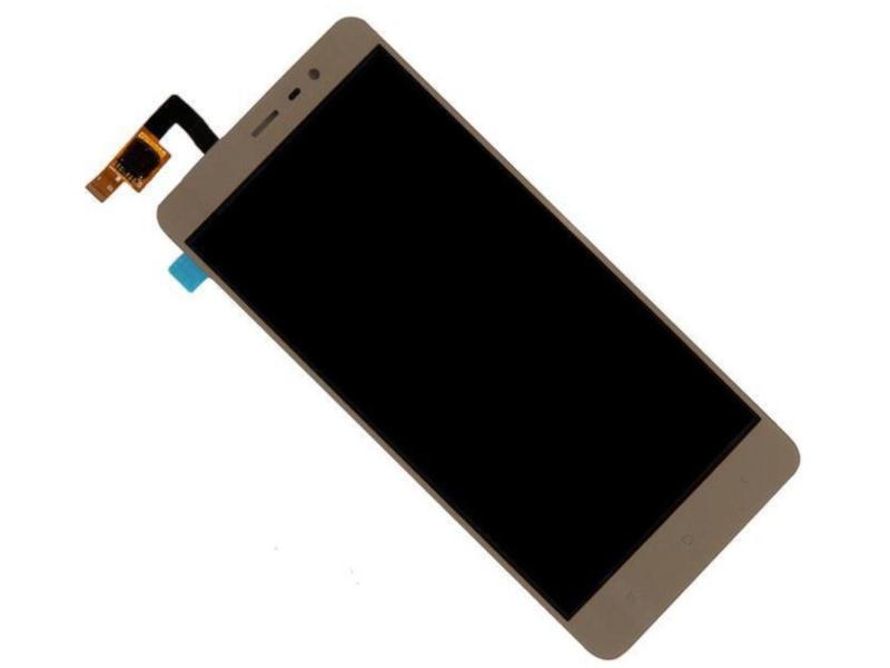 Дисплей RocknParts Zip для Xiaomi Redmi Note 3/Redmi 3 Pro Gold 452769