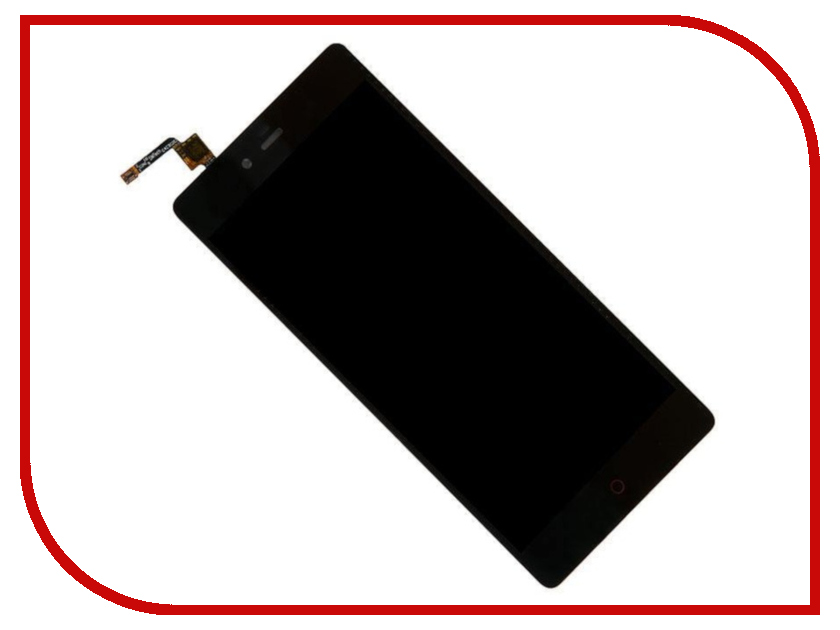 Дисплей Zip для ZTE Nubia Z9 Max 456435 lcd screen display touch screen digitizer with frame for 5 2 zte nubia z9 nx508j black free shipping