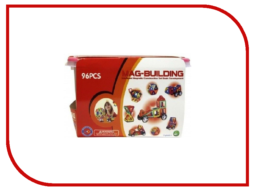 Конструктор Mag-Building MG019 96 магнитов zenius classic mag iso