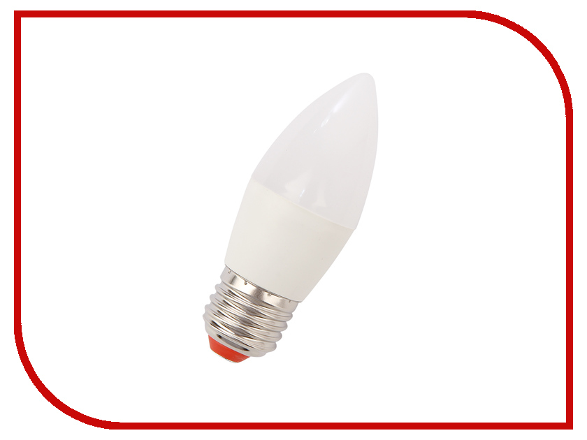 Лампочка Экономка Свеча 9W E27 230V 850Lm 4500K EcoLed9wCNE2745 лампочка экономка шарик gl45 7w e14 230v 4500k eco led7wgl45e1445