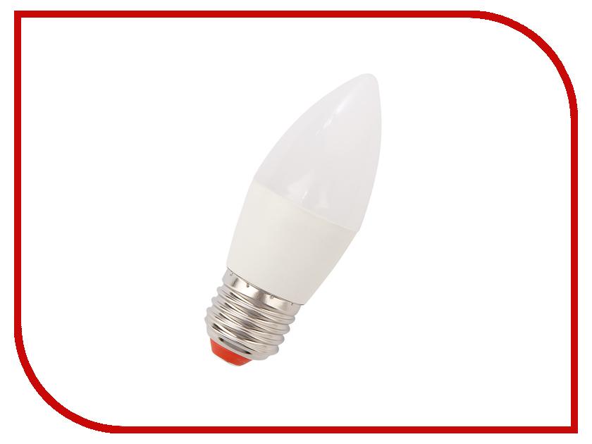 Лампочка Экономка Свеча 9W E27 230V 880Lm 6500K EcoLed9wCNE2765 лампочка экономка свеча 5w e27 230v 4500k eco led5wcne2745
