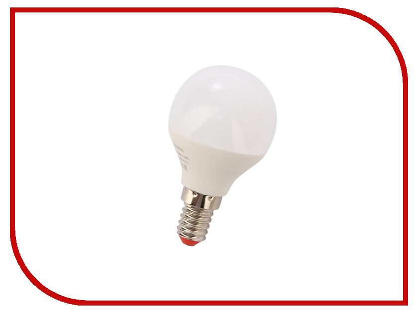 Лампочка Экономка Шарик E14 GL45 9W 230V 880Lm 6500K Eco_LED9WGL45E1465