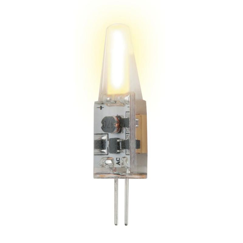 Лампочка Uniel LED-JC-12/1.5W/WW/G4/CL SIZ05TR