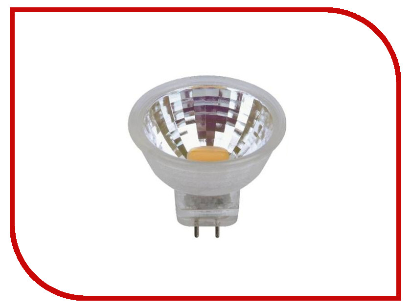 Лампочка Uniel LED-MR11-3W/NW/GU4/220V GLZ21TR