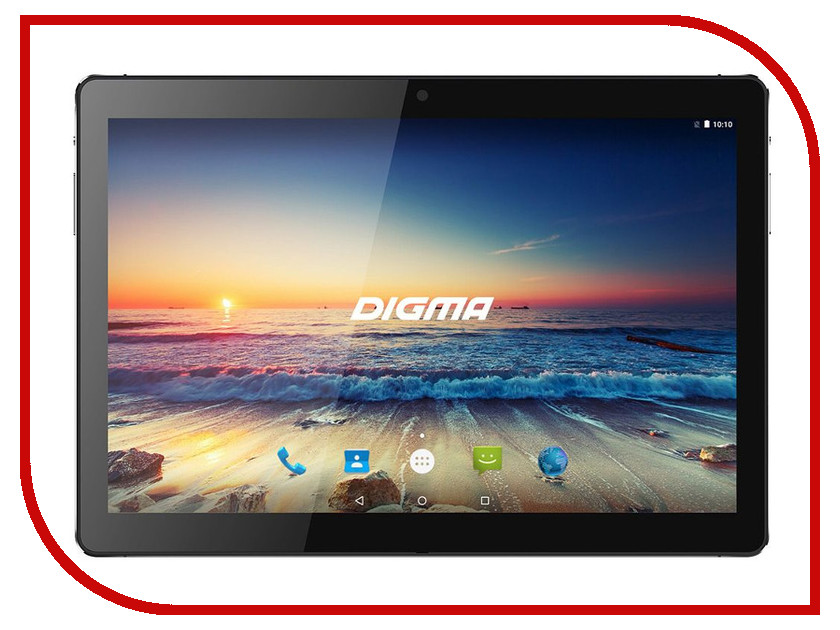 Планшет Digma Plane 1538E 4G (MediaTek MT8735W 1.3 GHz/2048Mb/32Gb/LTE/Wi-Fi/Bluetooth/GPS/Cam/10.1/1920x1200/Android)