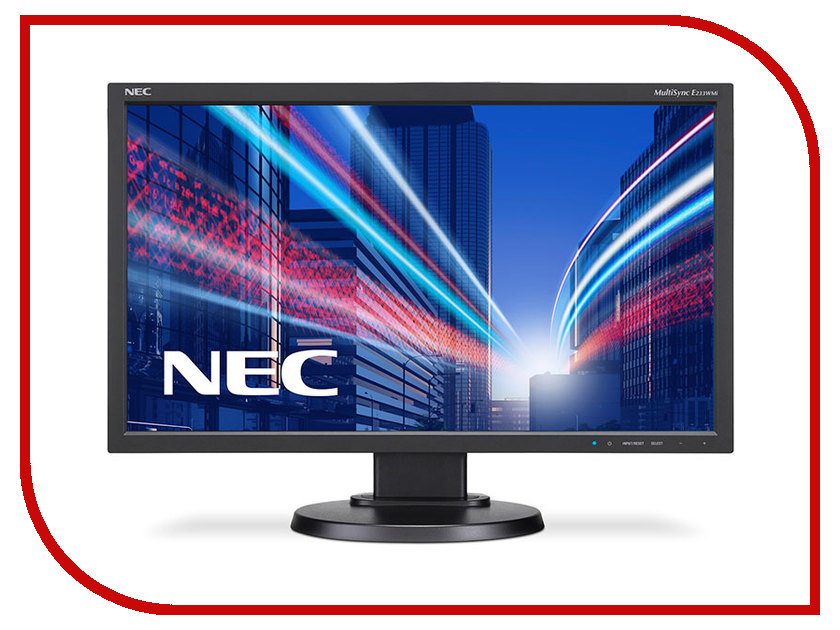 Монитор NEC MultiSync E233WMi Black