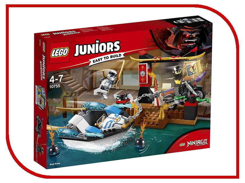 Конструктор Lego Juniors Погоня на моторной лодке Зейна 10755 кирилл шелестов погоня
