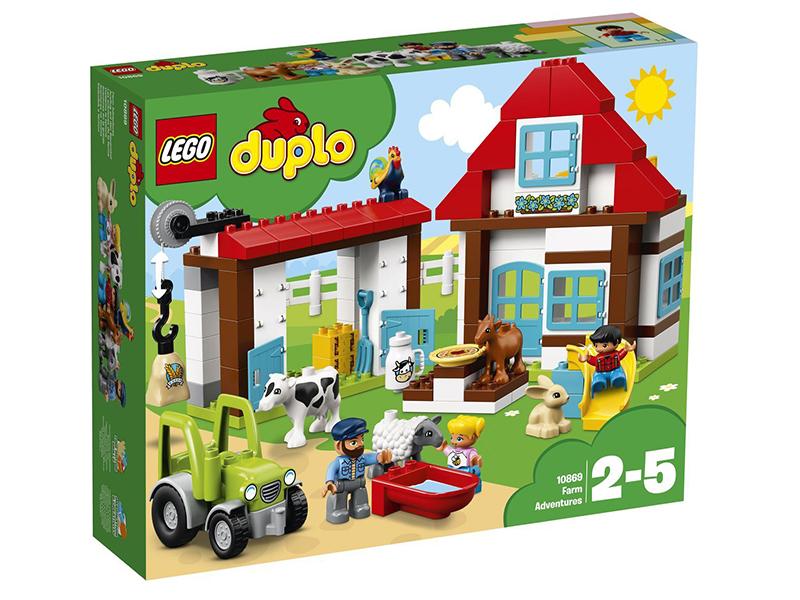 Фото - Конструктор Lego Duplo День на ферме 10869 puzzle 30 midi день на ферме в 03563