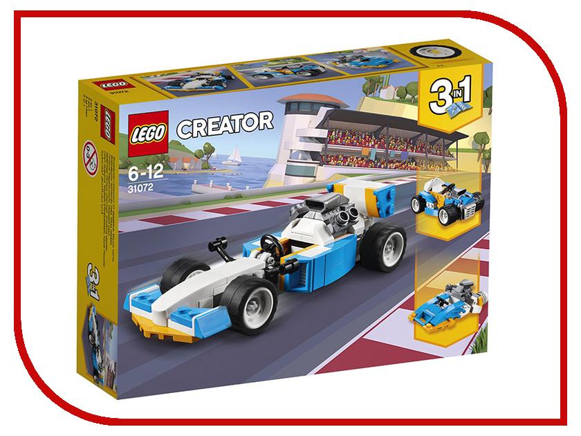 Конструктор Lego Creator Экстремальные гонки 31072 конструктор lego creator 31071 дрон разведчик