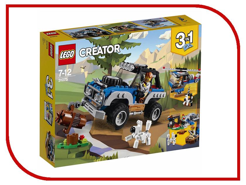 Конструктор Lego Creator Приключения в глуши 31075 конструктор lego creator путешествие по воздуху 31047
