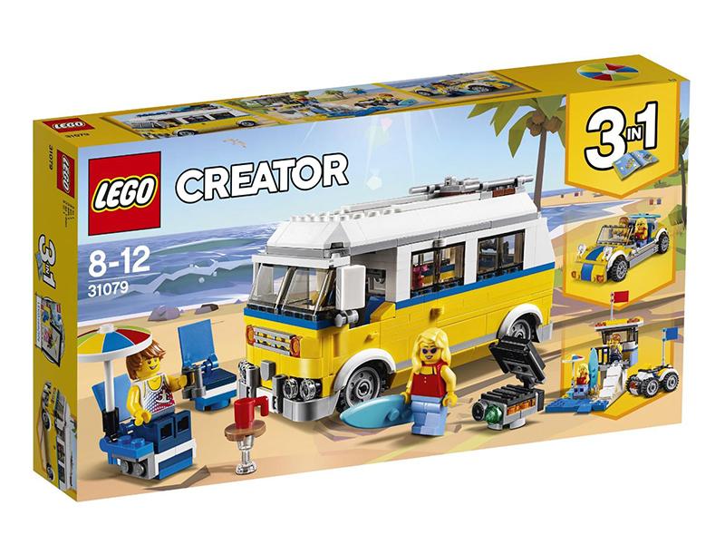 Конструктор Lego Creator Фургон сёрферов 31079