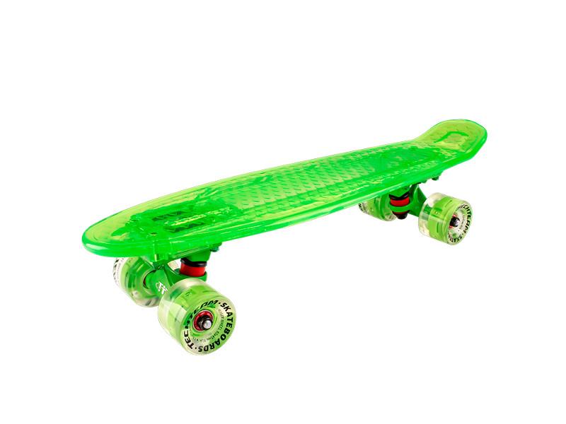 Скейт Tech Team Transparent Light 22 Green