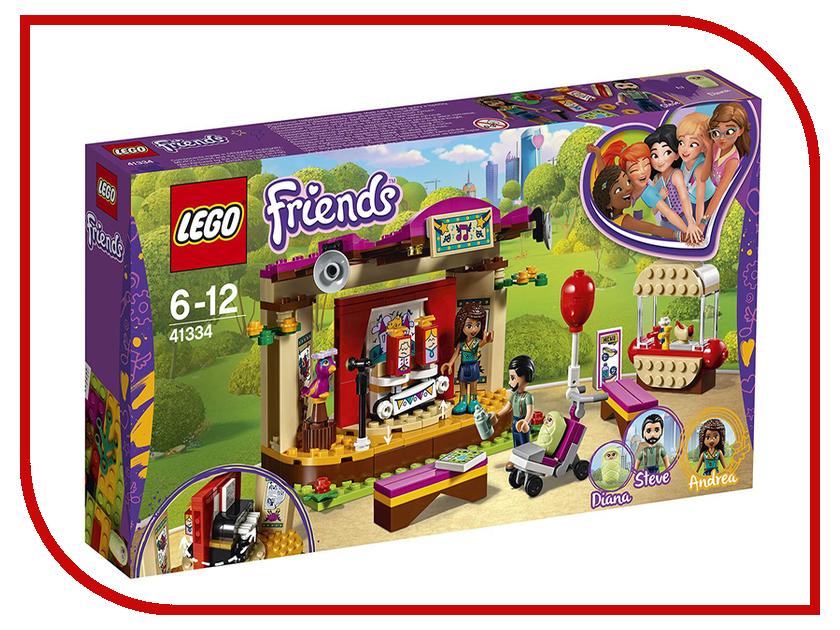 Конструктор Lego Friends Сцена Андреа в парке 41334 конструктор lepin girls club сцена андреа в парке 256 дет 01058