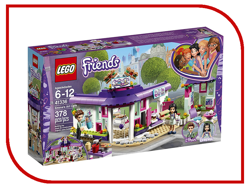 Конструктор Lego Friends Арт-кафе Эммы 41336