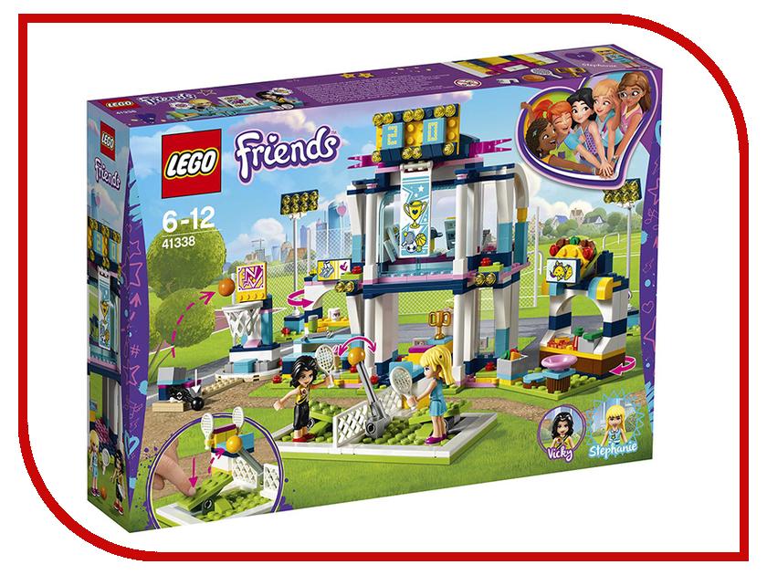 Конструктор Lego Friends Спортивная арена для Стефани 41338 салатник арена 27см 1217733