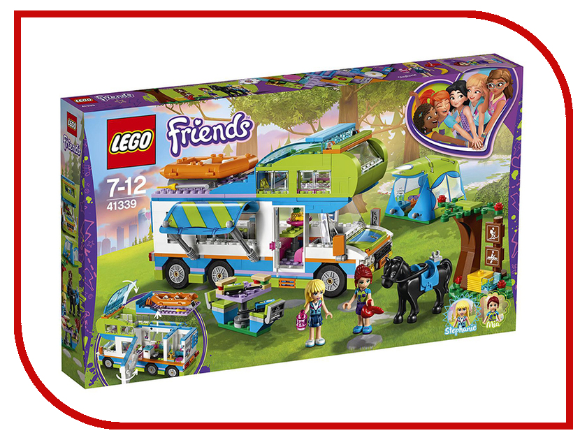 Конструктор Lego Friends Дом на колёсах 41339