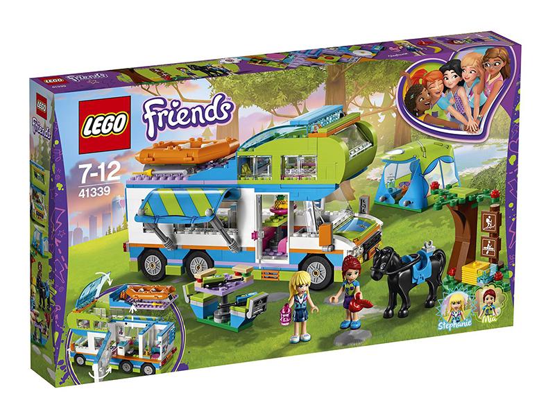 Конструктор Lego Friends Дом на колёсах 41339 конструктор bela friends 10168 оливия и домик на колёсах